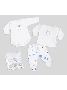 SET BEBE X3 BODY-REMERA-RANITA
