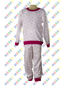 PIJAMA NENA INTERLOCK ESTAMPADO TALLE 6