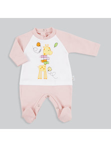 ENTERITO BEBE UNISEX LARGO INTERLOCK