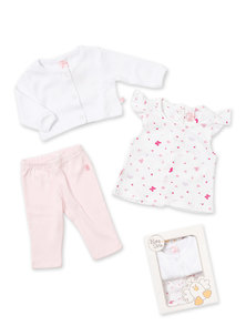 SET X 3 REMERA ESTAMPADA - SAQUITO - CALZA
