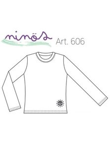 REMERA NIÑOS M/L +UV50 LISA COLOR