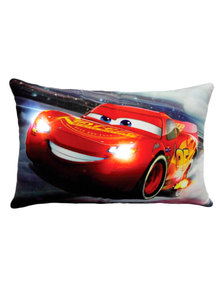 ALMOHADON CON LUZ LED CARS