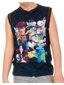 MUSCULOSA VARON TOY STORY. TALLES 2 AL 8