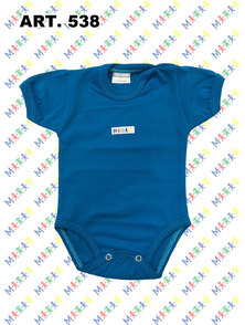 BODY BEBE M/C ALGODON COLOR T. 24 A 36 MESES
